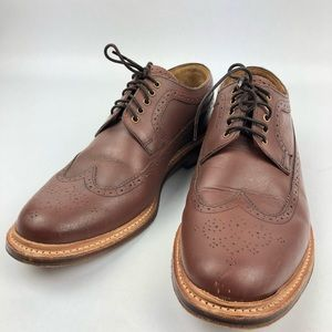 Grenson Archie Brogues - Dark Tan 100% leather